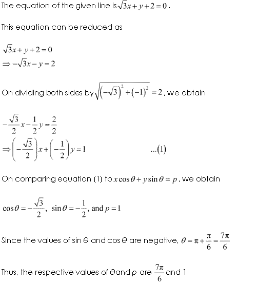 Class 11 Maths NCERT Solutions Chapter 10 Straight Lines Miscellaneous Exercise A2.1