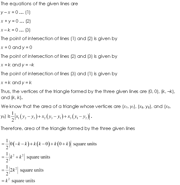 Class 11 Maths NCERT Solutions Chapter 10 Straight Lines Miscellaneous Exercise A8.1