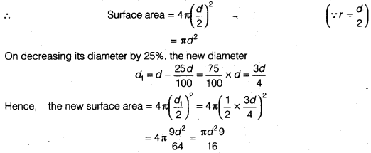 NCERT Class 9 Maths Solutions Chapter 13 Surface Areas and Volumes Ex 13.9 A3