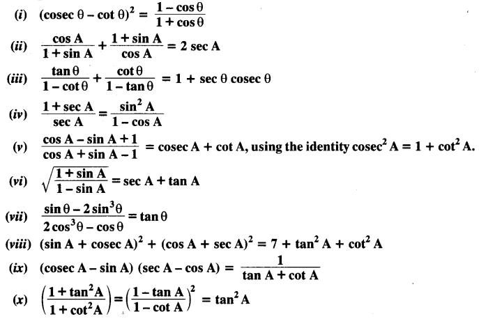 NCERT Solutions For Class 10 Maths Chapter 8 Introduction to Trigonometry Ex 8.4 Q5