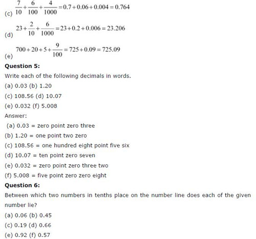 NCERT Solutions For Class 6 Maths Decimals Exercise 8.2 Q5