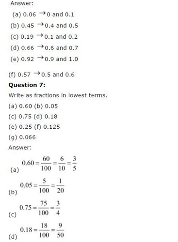 NCERT Solutions For Class 6 Maths Decimals Exercise 8.2 Q6