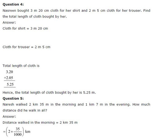NCERT Solutions For Class 6 Maths Decimals Exercise 8.5 Q4