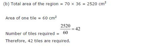 NCERT Solutions For Class 6 Maths Mensuration Exercise 10.3 Q11