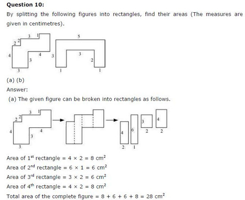 NCERT Solutions For Class 6 Maths Mensuration Exercise 10.3 Q7