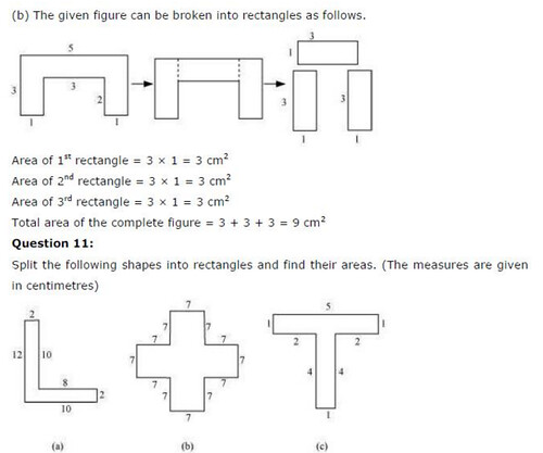 NCERT Solutions For Class 6 Maths Mensuration Exercise 10.3 Q8