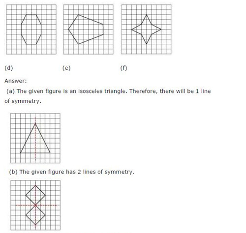NCERT Solutions For Class 6 Maths Symmetry Exercise 13.2 Q12