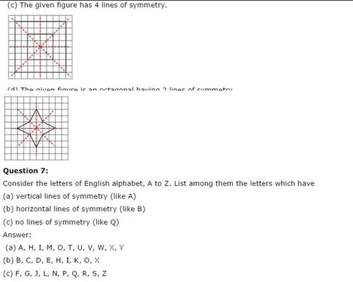 NCERT Solutions For Class 6 Maths Symmetry Exercise 13.2 Q13