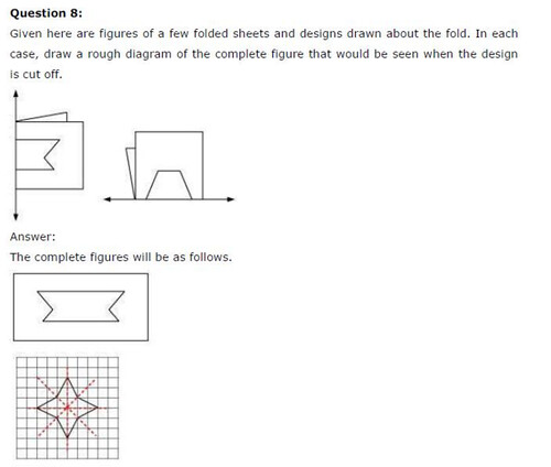 NCERT Solutions For Class 6 Maths Symmetry Exercise 13.2 Q14