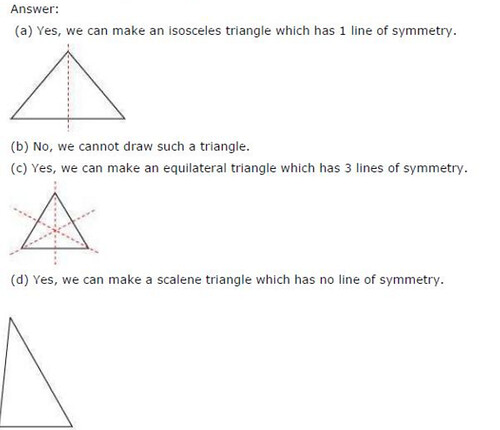 NCERT Solutions For Class 6 Maths Symmetry Exercise 13.2 Q6