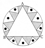 NCERT Solutions for Class 10 Maths Chapter 12 Areas Related to Circles Ex 12.3 Q6