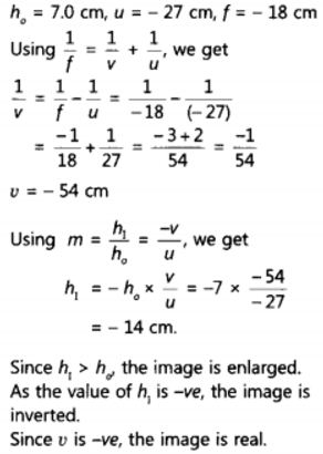 NCERT Solutions for Class 10 Science Chapter 10 Light Reflection and Refraction Page 187 Q15