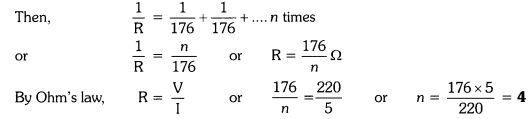 NCERT Solutions for Class 10 Science Chapter 12 Electricity Chapter End Questions Q10