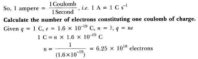 NCERT Solutions for Class 10 Science Chapter 12 Electricity Page 200 Q1