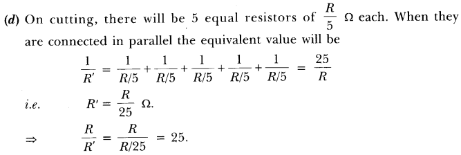 NCERT Solutions for Class 10 Science Chapter 12 Electricity Text Book Questions Q1.1