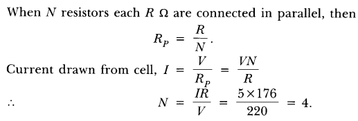 NCERT Solutions for Class 10 Science Chapter 12 Electricity Text Book Questions Q10