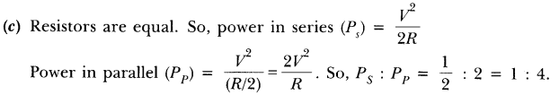 NCERT Solutions for Class 10 Science Chapter 12 Electricity Text Book Questions Q4