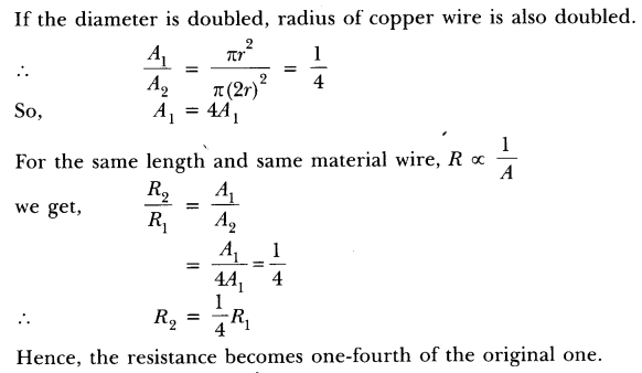 NCERT Solutions for Class 10 Science Chapter 12 Electricity Text Book Questions Q6.1