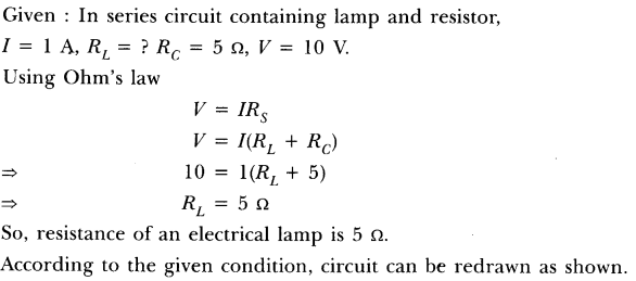NCERT Solutions for Class 10 Science Chapter 12 Electricity Text Book Questions SAQ Q5
