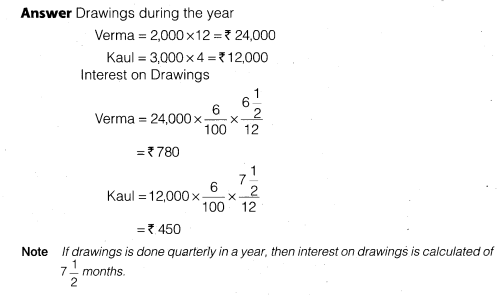NCERT Solutions for Class 12 Accountancy Chapter 2 Accounting for Partnership Basic Concepts Do it Yourself 2 Q3