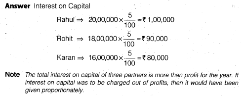 NCERT Solutions for Class 12 Accountancy Chapter 2 Accounting for Partnership Basic Concepts Numerical Problems Q13