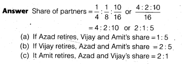 NCERT Solutions for Class 12 Accountancy Chapter 4 Reconstitution of a Partnership Firm – Retirement Death of a Partner Do it Yourself I Q2