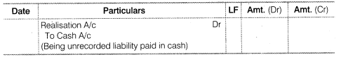 NCERT Solutions for Class 12 Accountancy Chapter 5 Dissolution of Partnership Firm SAQ Q2.2