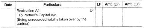 NCERT Solutions for Class 12 Accountancy Chapter 5 Dissolution of Partnership Firm SAQ Q2.3