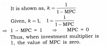 NCERT Solutions for Class 12 Macro Economics National Income Determination and Multiplier True or False Q4