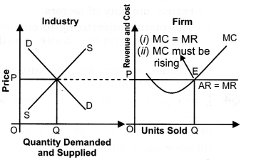 NCERT Solutions for Class 12 Micro Economics Perfect Competition SAQ Q2
