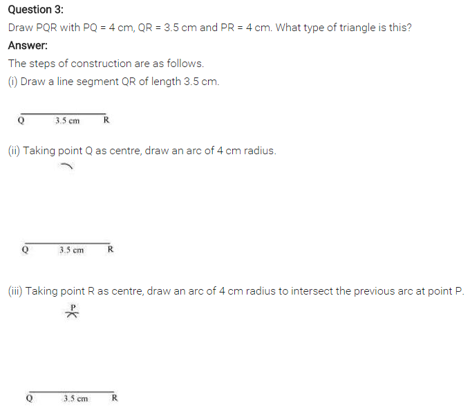 NCERT Solutions for Class 7 Maths Chapter 10 Practical Geometry Ex 10.2 Q3