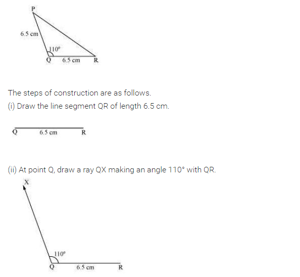 NCERT Solutions for Class 7 Maths Chapter 10 Practical Geometry Ex 10.3 Q2.1