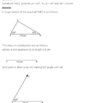 NCERT Solutions for Class 7 Maths Chapter 10 Practical Geometry Ex 10.4 Q1