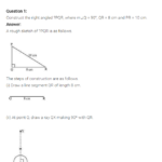 NCERT Solutions for Class 7 Maths Chapter 10 Practical Geometry Ex 10.5 Q1