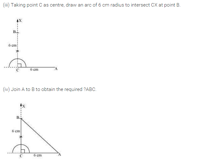 NCERT Solutions for Class 7 Maths Chapter 10 Practical Geometry Ex 10.5 Q3.1