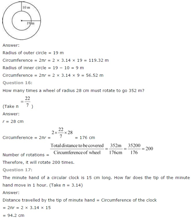 NCERT Solutions for Class 7 Maths Chapter 11 Perimeter and Area Ex 11.3 Q7