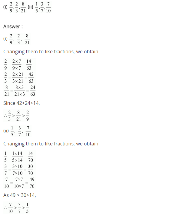 NCERT Solutions for Class 7 Maths Chapter 2 Fractions and Decimals Ex 2.1 Q1.2