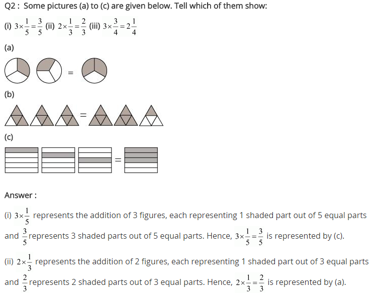 NCERT Solutions for Class 7 Maths Chapter 2 Fractions and Decimals Ex 2.2 Q2