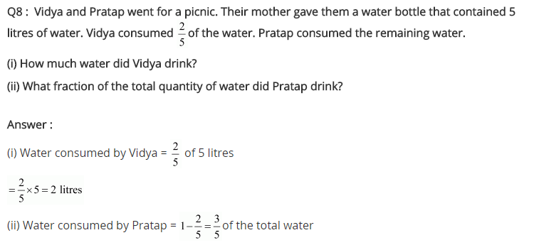NCERT Solutions for Class 7 Maths Chapter 2 Fractions and Decimals Ex 2.2 Q8