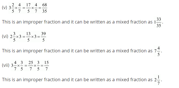 NCERT Solutions for Class 7 Maths Chapter 2 Fractions and Decimals Ex 2.3 Q3.1