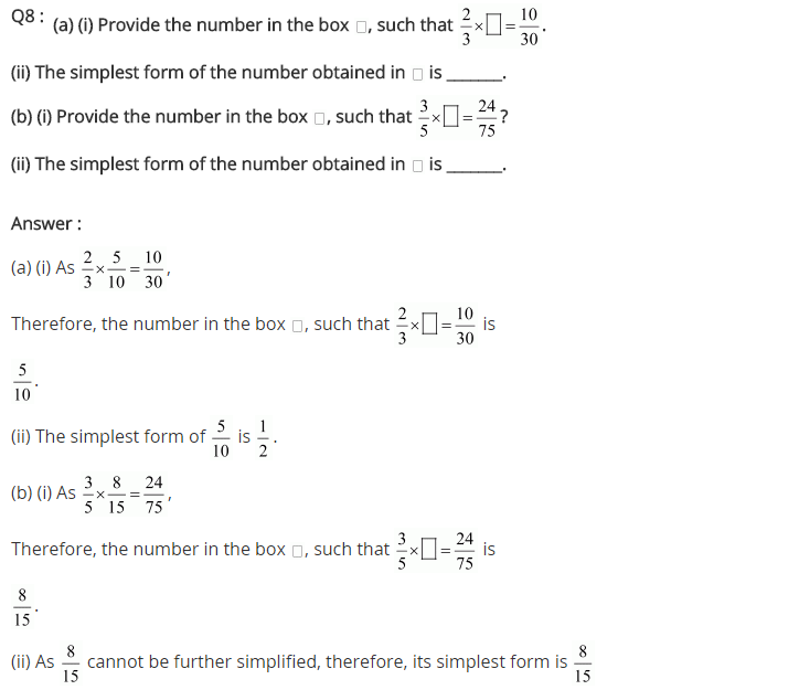 NCERT Solutions for Class 7 Maths Chapter 2 Fractions and Decimals Ex 2.3 Q8