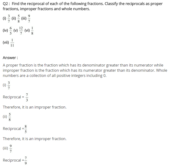 NCERT Solutions for Class 7 Maths Chapter 2 Fractions and Decimals Ex 2.4 Q2