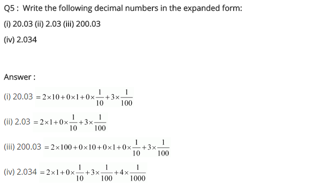 NCERT Solutions for Class 7 Maths Chapter 2 Fractions and Decimals Ex 2.5 Q5
