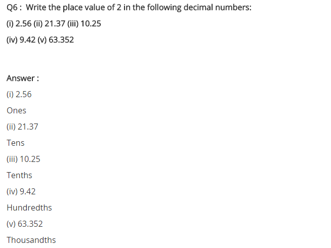 NCERT Solutions for Class 7 Maths Chapter 2 Fractions and Decimals Ex 2.5 Q6