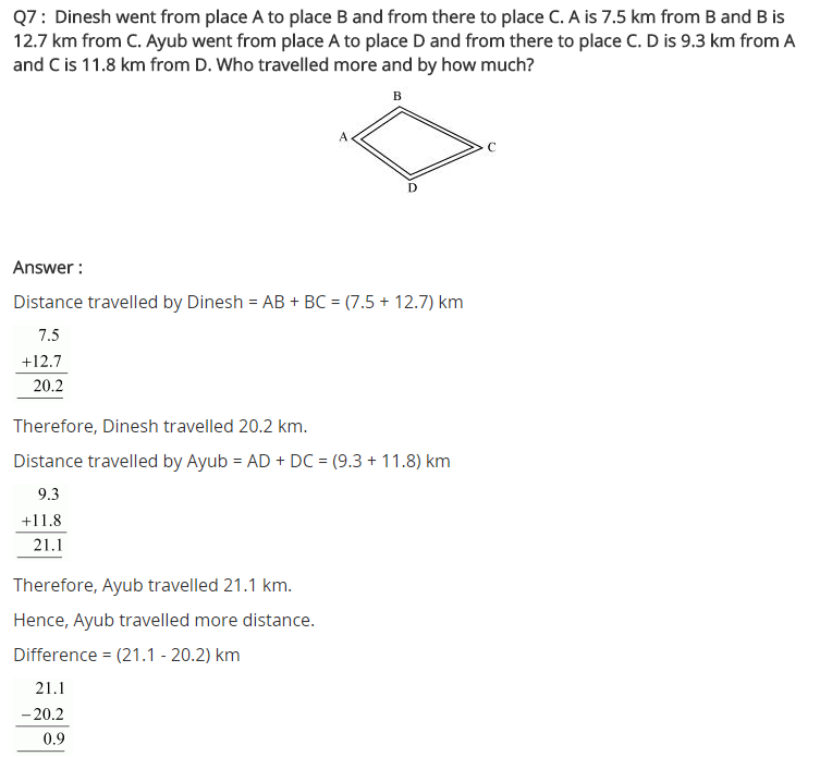 NCERT Solutions for Class 7 Maths Chapter 2 Fractions and Decimals Ex 2.5 Q7