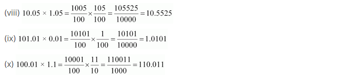 NCERT Solutions for Class 7 Maths Chapter 2 Fractions and Decimals Ex 2.6 Q5.1