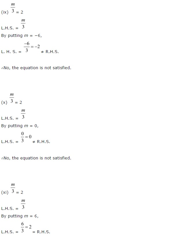 NCERT Solutions for Class 7 Maths Chapter 4 Simple Equations Ex 4.1 Q1.3