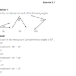 NCERT Solutions for Class 7 Maths Chapter 5 Lines and Angles Ex 5.1 Q1
