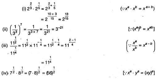 NCERT Solutions for Class 9 Maths Number System Ex 1.6 Q3.1