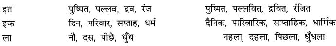 CBSE Class 9 Hindi A व्याकरण प्रत्यय 11